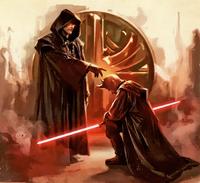 Ситх-учитель и его ученик