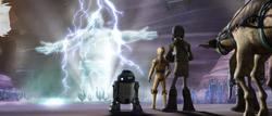 C-3PO и Алби Дево