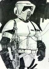 Scout trooper concept