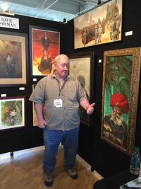 Dave Dorman and works 2017