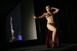 Slave Leia Belly Dancing (513829943)