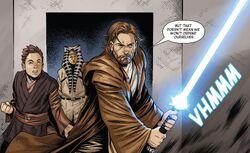 Оби-Ван вступает в бой на Далленоре