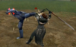 Kex fights Meetra