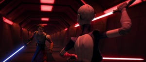 Ventress vs Anakin ARC