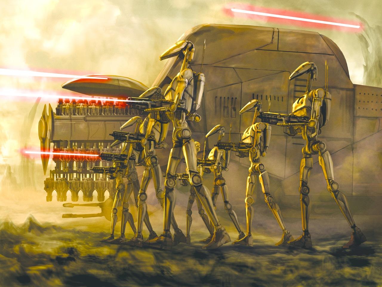 картинки армии дроидов