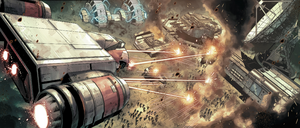 Endor Imperial outpost assault