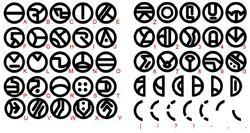 Umbaran alphabet