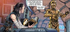 Рей читает книгу