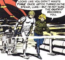 Tanith saves Luke
