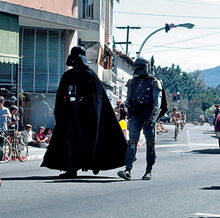Darth Boba parade