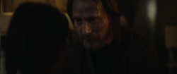 Galen tells Jyn to prpare to run