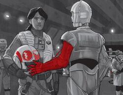 Пава и C-3PO