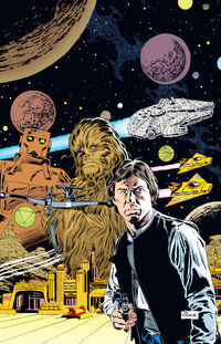 Han Solo stars end tpb notext