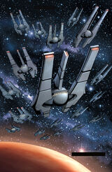Infinite Empire fleet DotJ10