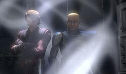 Skywalker and Rex captured