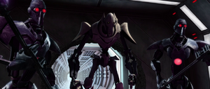 Grievous and his bodyguards