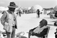 Robert Watts and Alec Guinness