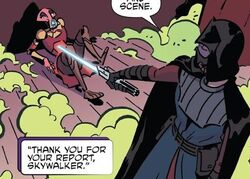Anakin defeats Synata