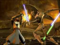 Lightsaber duels screen 1