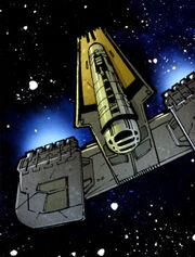 Tes Vevecs starship SWLEG41