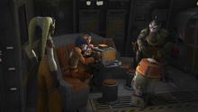Ezra transmits a message of rebellion