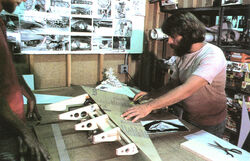 Grant works on the Imperial Star Destroyer