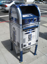 R2-D2 Mailbox by Chris Scalf