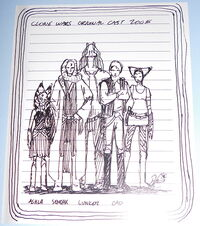 Clone Wars original cast 2005