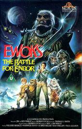 Ewoks The Battle for Endor poster1