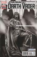 Star Wars Darth Vader Vol 1 1 Black and White Variant