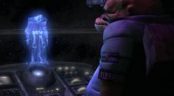 Grievous hologram DOAD