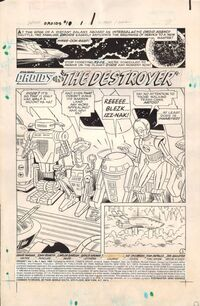 Star Wars Droids issue 1 page 1