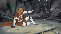 Kenobi Deflecting Durge's Attack