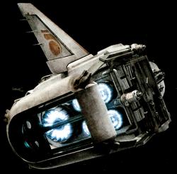 Resistance transport pod rear