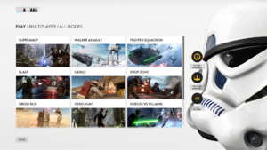 Gamemodes-SW Battlefront