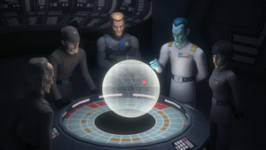 Thrawn speaks to Imperials