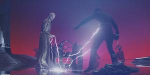 Сноук использует молнию Силы