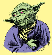Yoda by Marie Severin