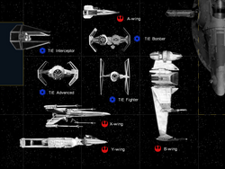 Starfighter size chart