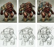 Flesh Raiders concept arts
