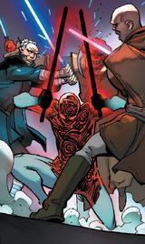 Джедаи против Вейдера в видении