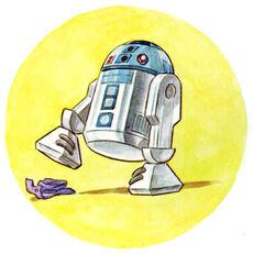 R2-D2 and hat TLPADA