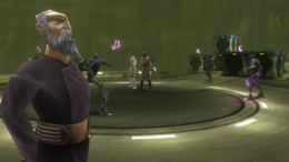 Magnaguards surround Jedi