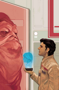 Poe Dameron 4 textless cover