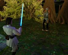 Obi-Wan Jar Jar TPMgame