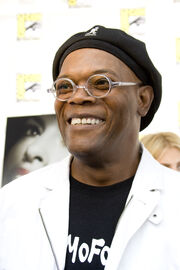 Samuel L Jackson at San Diego ComicCon 2008