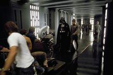 Vader Bast filming