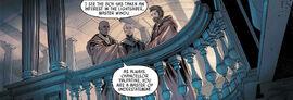 Windu, Palpatine and Kenobi