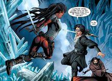 Zana fights runaways DotJ08
