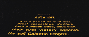 A New Hope opening title
